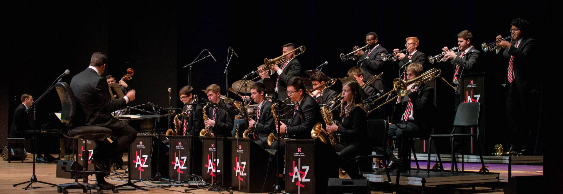 Jazz Orchestra on Kimball Stage